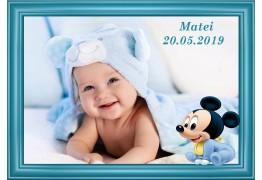 Magnet Mickey Albastru